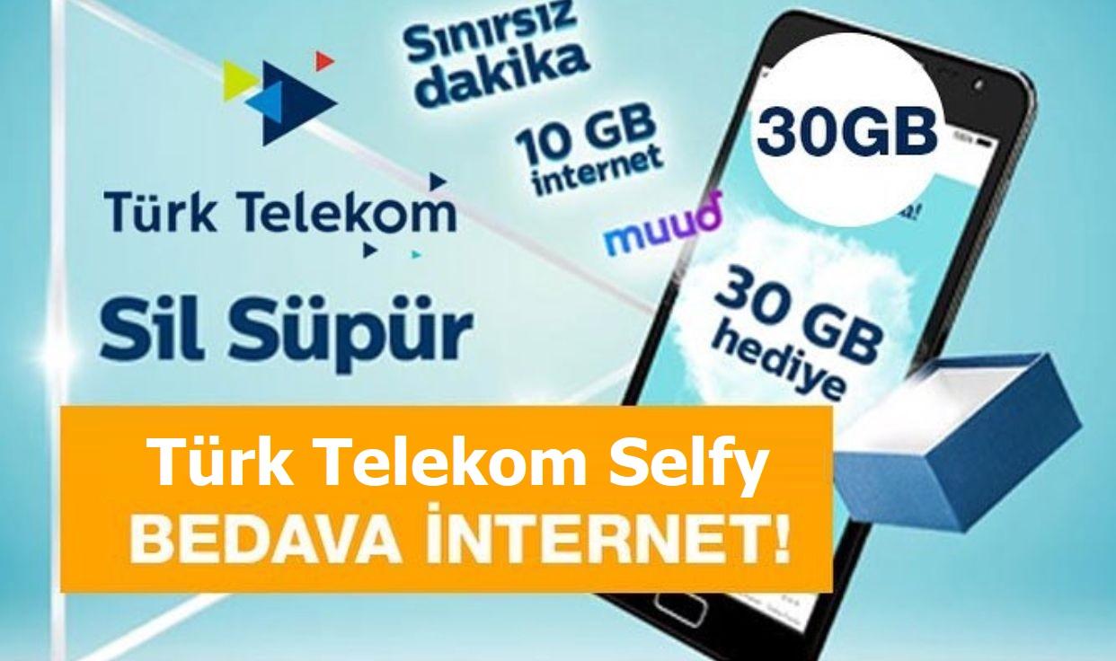 Turk Telekom Selfy bedava internet kazan2
