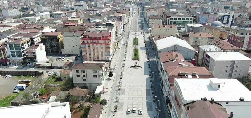 806x378 istanbul sultanbeylide sokaga cikanlar drone ile tespit edildi 1586691679167